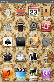 paxman SummerBoard Theme for the iPhone or iPod Touch