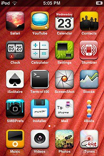 realize SummerBoard Theme for the iPhone or iPod Touch