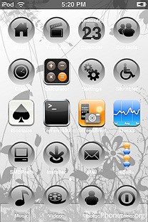 serenity SummerBoard Theme for the iPhone or iPod Touch