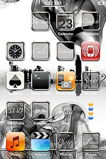 shine SummerBoard Theme for the iPhone or iPod Touch