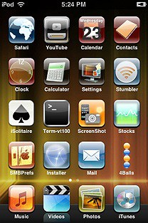 soft SummerBoard Theme for the iPhone or iPod Touch