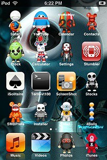 toy 2 SummerBoard Theme for the iPhone or iPod Touch