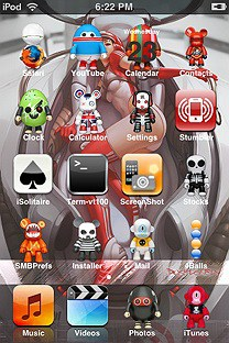 toy 3 SummerBoard Theme for the iPhone or iPod Touch