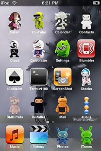 toy SummerBoard Theme for the iPhone or iPod Touch