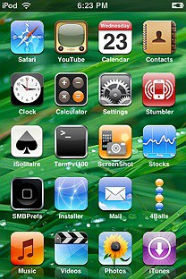 trans leo SummerBoard Theme for the iPhone or iPod Touch