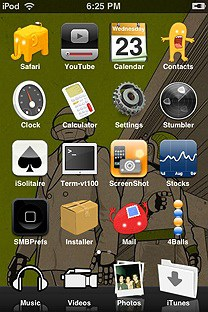 twopikamookie SummerBoard Theme for the iPhone or iPod Touch