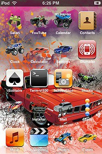 tycorc SummerBoard Theme for the iPhone or iPod Touch