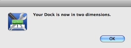 confirm dock changes