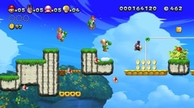 Fondo de escritorio de Super Mario Brothers U Deluxe # 2