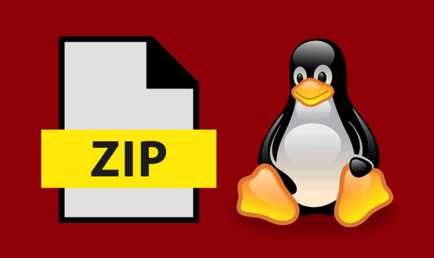 zip tar and tar.gz files in Linux