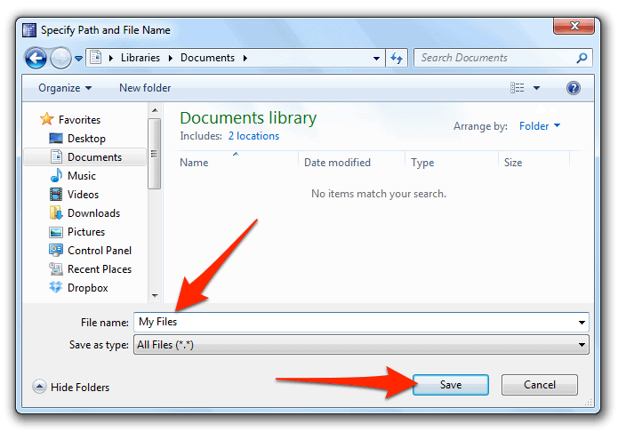 How to Securely Store Files in Windows