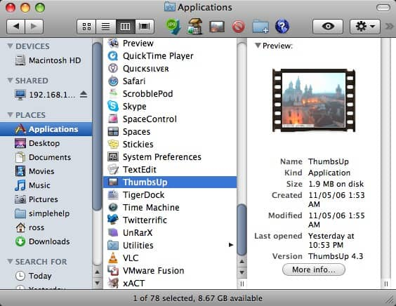 How to Quickly Create Thumbnails or Resize Images in OS X