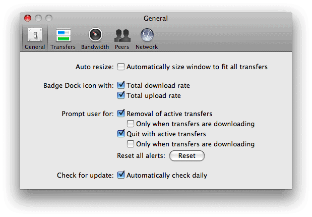 How to use Transmission as your BitTorrent client (OS X)
