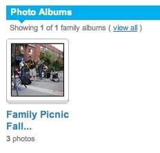 photo album in hellotree