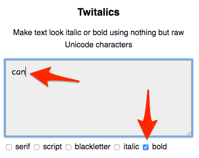 How to Use Bold and Italicized Text on Twitter