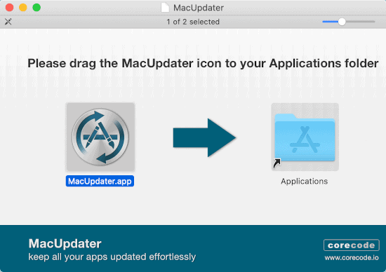 install MacUpdater