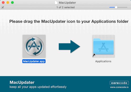 install MacUpdater