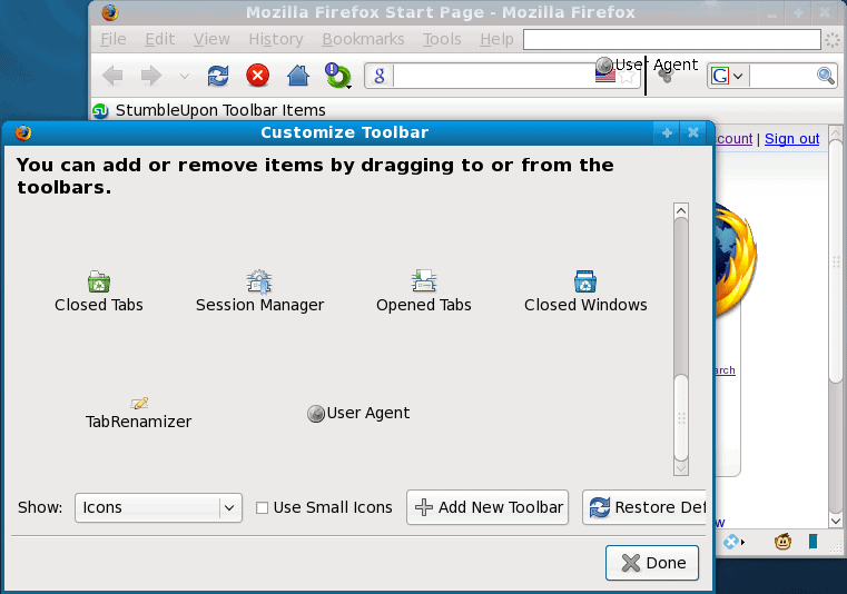 Add On User Agent Switcher Firefox