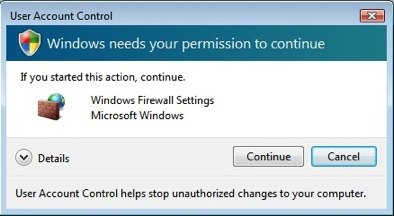 windows vista firewall