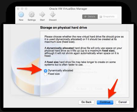 Install linux on mac virtualbox download