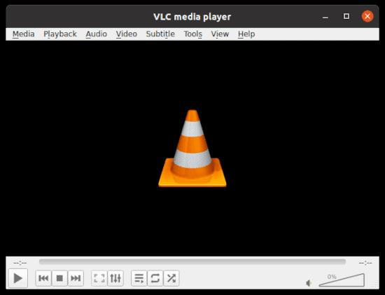 VLC in Ubuntu