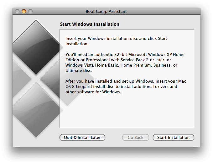 Using Boot Camp to install Windows 7 on your Mac: The Complete ...