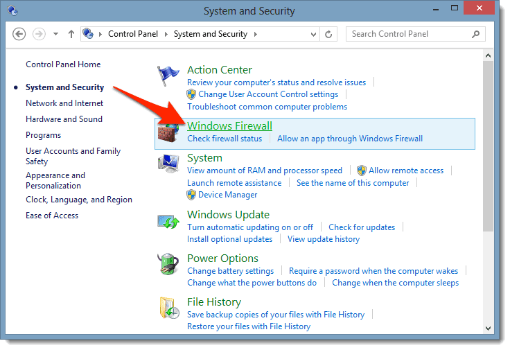 How to Block a Program from Accessing The Internet in Windows 8