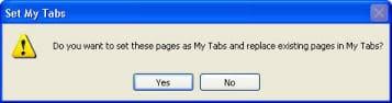 Windows Live Toolbar confirmation window