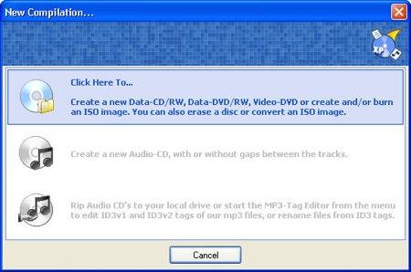 cdburnerxp pro burning an iso file