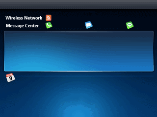 windows mobile 7 skin without the analogue clock