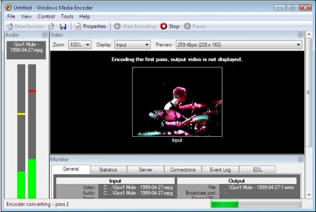 encoding windows media video for pocket pcs and windows mobile