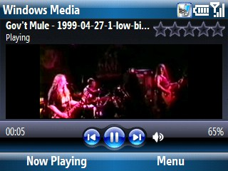 windows mobile media player