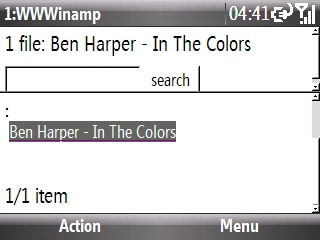 wwwinamp in opera mobile