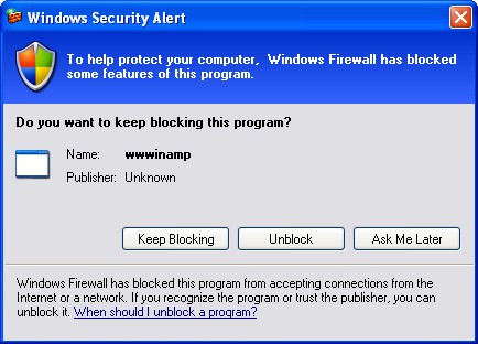 windows firewall window