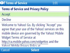 yahoo go terms of service