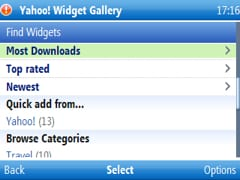 most downloaded yahoo go widgets