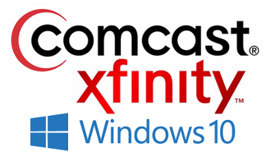 Comcast and Windows 10