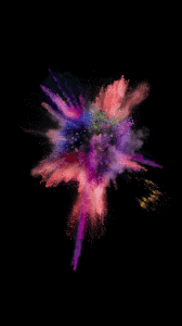 iOS 9 paint explosion number 2 wallpaper