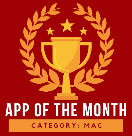 simplehelp app of the month logo