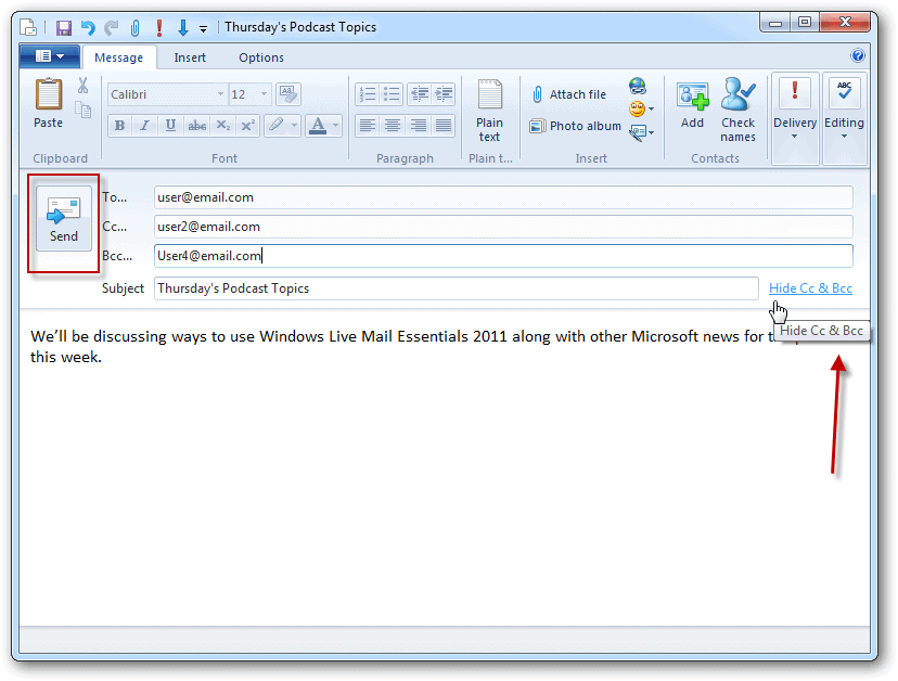 Beginners Guide to Setting Up Windows Live Mail 2011