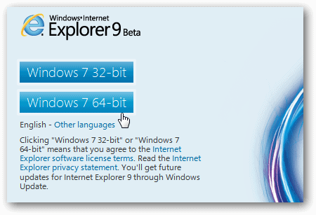 Beginners Guide to Setting up and Using Internet Explorer 9 Beta