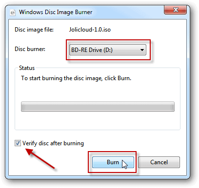 How To Burn an ISO Image to Disc in Windows 7