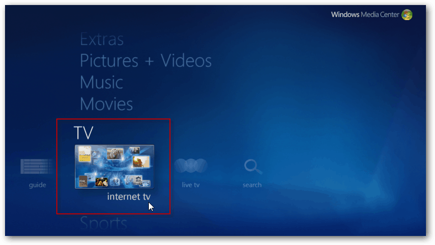 Windows 7 Media Center Plugins Blu Ray