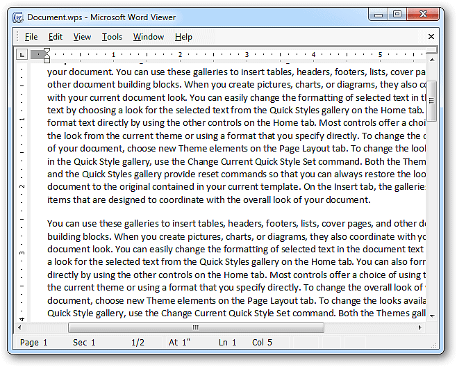 Wps File Converter For Word