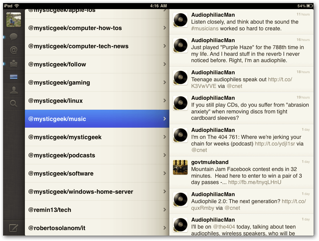 5 Great Twitter Apps For the iPad