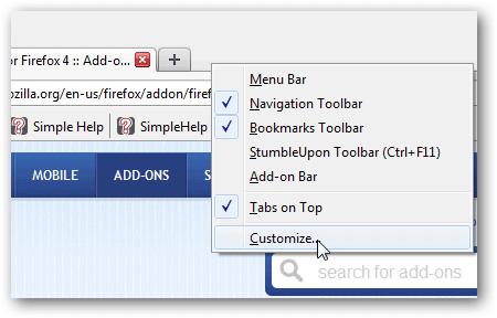 How To Make Firefox 4 Look Like Version 3