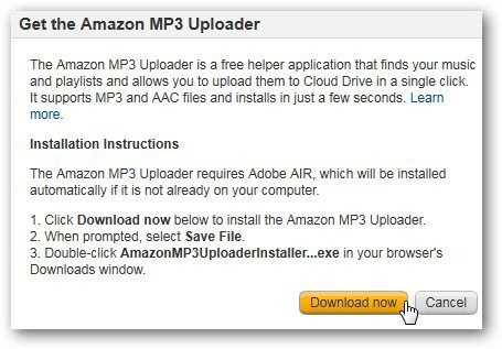 How To Setup and Use Amazon Cloud Player & get 20 GB of Free