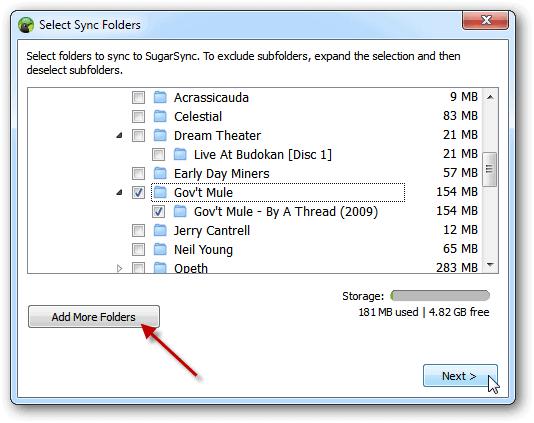 how to add lyric folder to ipad