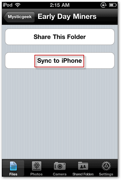 how to put the songs alphabectical on iphone