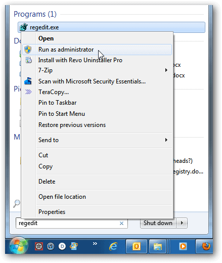How To Create a Text Logon Message in Windows 7
